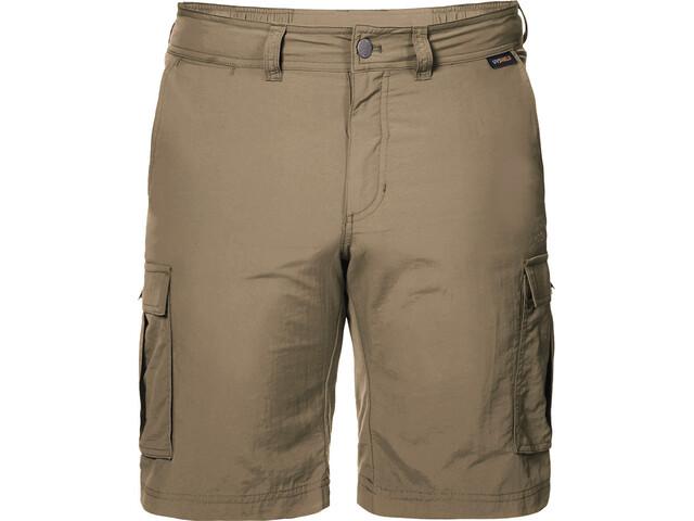 404c7a708d2 Jack Wolfskin Canyon Cargo Shorts Men sand dune